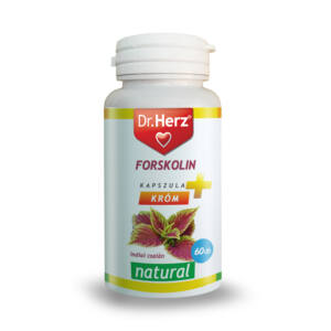 Dr. Herz Forskolin   króm 60 db kapszula