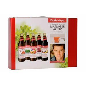Dr. Steinberger Manager Activ gyümölcs és zöldséglé csomag 5 db