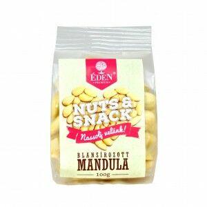 Éden Prémium Nuts&Snack blansírozott mandula, 100 g