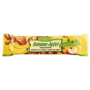 Rapunzel bio Gyümölcsszelet almával és banánnal 40 g
