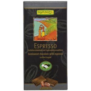 Rapunzel bio Félédes kávés csokoládé vegán 80 g