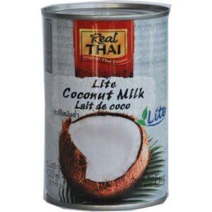 Real Thai kókusztej light 400 ml