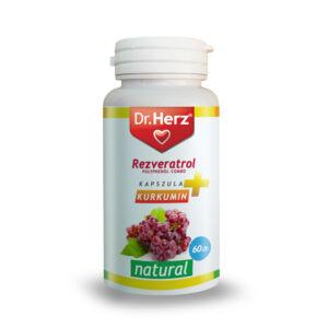 Dr. Herz Rezveratrol   kurkumin kapszula 60 db