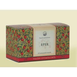 Mecsek Eper ízű filteres gyümölcstea 20 filter