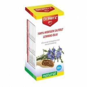 Dr. Herz hidegen sajtolt lenmagolaj 50 ml