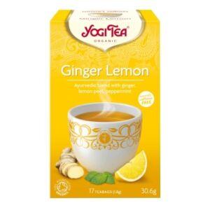 Yogi Bio Citromos gyömbér tea GINGER LEMON 17 filter