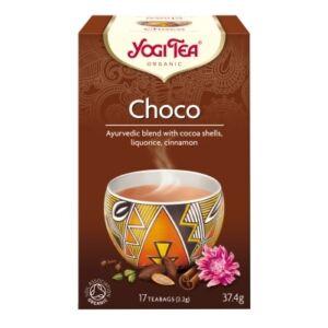 Yogi Bio Csokoládés tea CHOCO 17 filter