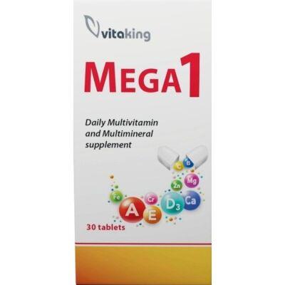 Vitaking Mega1 multivitamin tabletta, 30 db