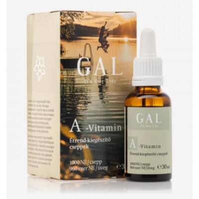 GAL A-vitamin, 30 ml (1000NE/csepp)