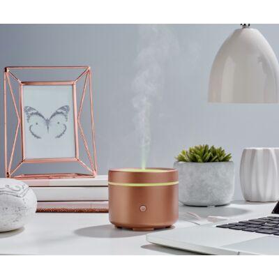 MadeByZen ultrahangos aromadiffúzor LIV Copper USB csatlakozóval