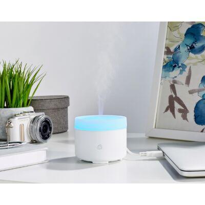 MadeByZen ultrahangos aromadiffúzor LIV White USB csatlakozóval