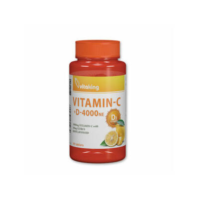 Vitaking C-1000mg + D-4000NE, 90 db tabletta