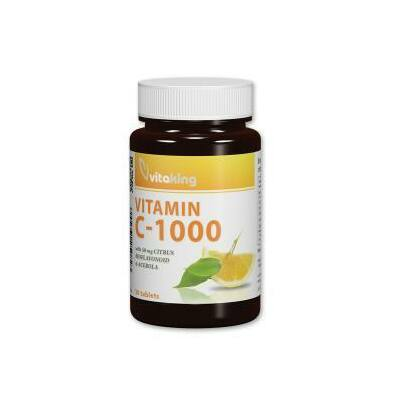Vitaking C-1000mg, 30 db tabletta (bioflav+acerola+csip)