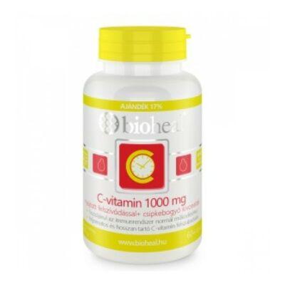 Bioheal Csipkebogyós Cvitamin 1000 mg nyújtott felszívódással 120 db