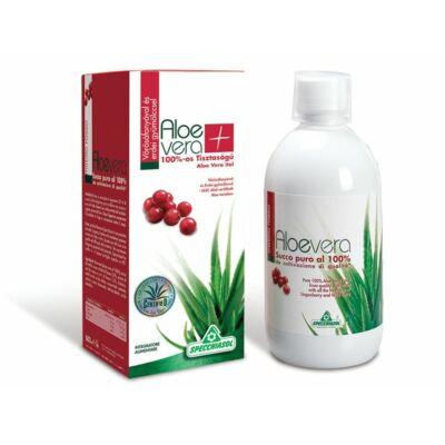 Specchiasol 100százalékosos Aloe Vera Ital Vörösáfonyával és Erdei gyümölccsel 1000 ml