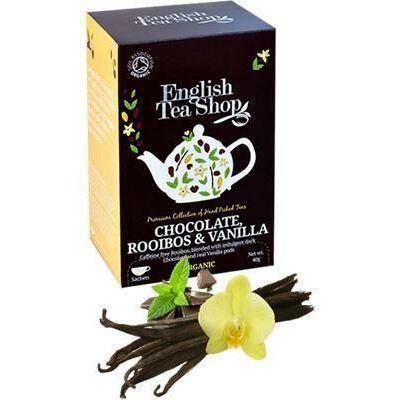 ETS bio Csokoládésvaníliás rooibos tea 20 filter 40 g