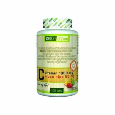 Herbioticum Cvitamin 1000mg csipkebogyó 100db