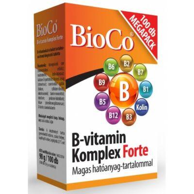 BioCo Bvitamin Komplex Forte 100 db tabletta