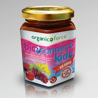 Bioconnect Kids szuperlekvár bétaglükán tartalmú BIO gyümölcszöldség koncentrátum gyerekeknek 210 g
