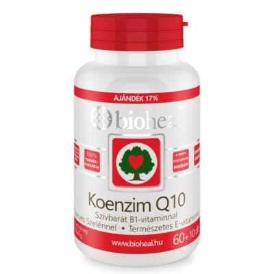 Bioheal Koenzim Q10 60mg Szelénnel Evitaminnal és B1vitaminnal 70 db