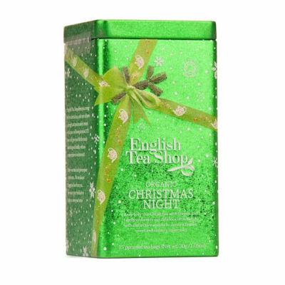 ETS bio Karácsonyi tea fémdobozban 15 filter  Christmas Night