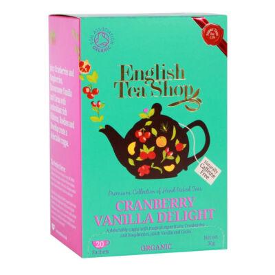 ETS bio Áfonyás   Vaníliás csoda tea 20 filter