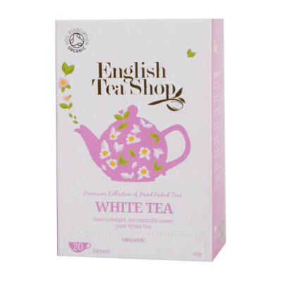 ETS bio Fehér tea 20 filter