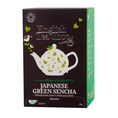 ETS bio Japán zöld sencha tea 20 filter