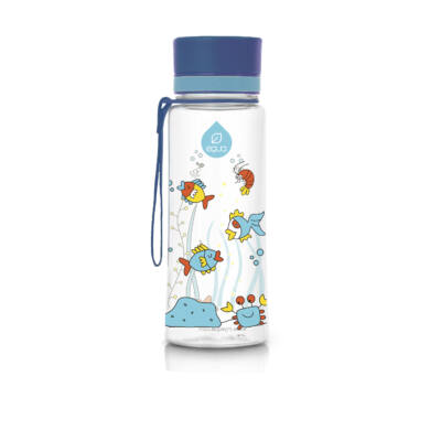 MyEqua BPAmentes műanyag kulacs 400 ml  Kis Equarium