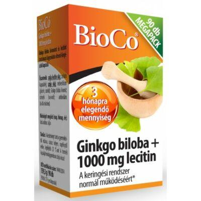 BioCo Ginkgo Biloba Lecitin 1000mg Megapack 90 db kapszula