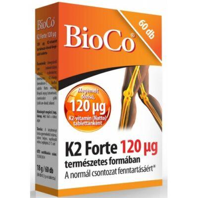BioCo K2vitamin Forte 120 µg 60 db tabletta