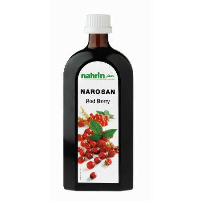 Narosan vörös áfonya természetes koncentrált multivitamin készítmény red berry 500 ml