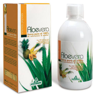 Specchiasol 100százalékosos Aloe Vera Ital ananásszal papayával és fekete ribizlivel 1000 ml