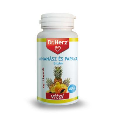 Dr. Herz ananászpapaya enzim kapszula 60 db