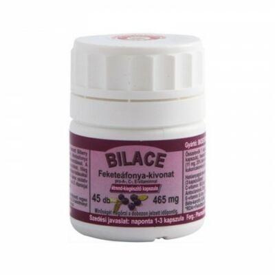 BILACE  Fekete áfonya kivonata A C Evitaminnal 45 kapszula