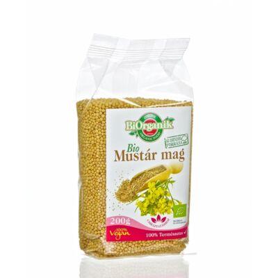 BiOrganik bio mustárcsíra mag 200 g