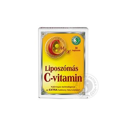 Dr. Chen CMAX Liposzómás Cvitamin 30 db