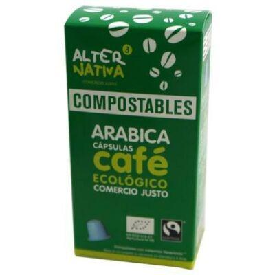 Alternativa3 Arabica Kávé Kapszula  Komposztálható 10 db