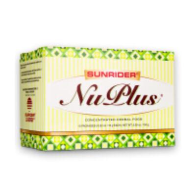 Sunrider Nuplus növényi élelmiszer Ananászosbanános 10 x 15g