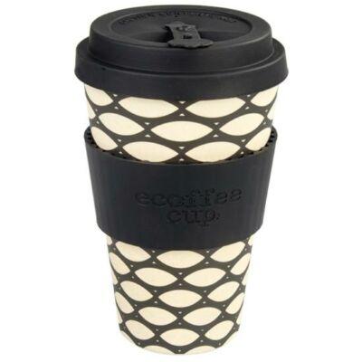 Ecoffee Cup hordozható kávéspohár  Basket Case 400 ml