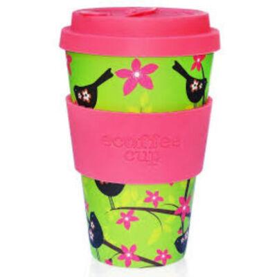 Ecoffee Cup hordozható kávéspohár  Widdlebirdy 400 ml