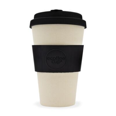 Ecoffee Cup hordozható kávéspohár  Black Nature 400ml