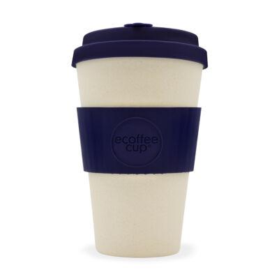 Ecoffee Cup hordozható kávéspohár  Blue Nature 400 ml