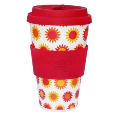 Ecoffee Cup hordozható kávéspohár Happy 400 ml