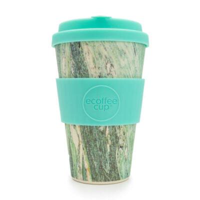 Ecoffee Cup hordozható kávéspohár  Marmo Verde 400 ml