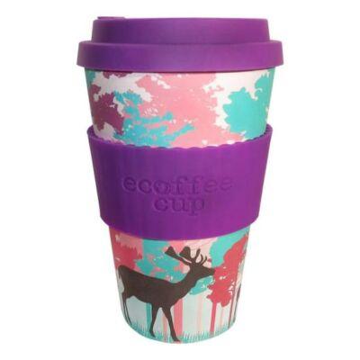 Ecoffee Cup hordozható kávéspohár  Frankly My Deer 400 ml