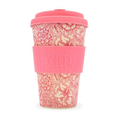 Ecoffee Cup hordozható kávéspohár  WM Poppy 400 ml