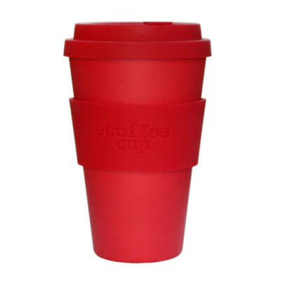 Ecoffee Cup hordozható kávéspohár  Red Dawn 400 ml