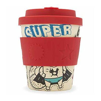 Ecoffee Cup hordozható kávéspohár  Superhero Fuel 240 ml