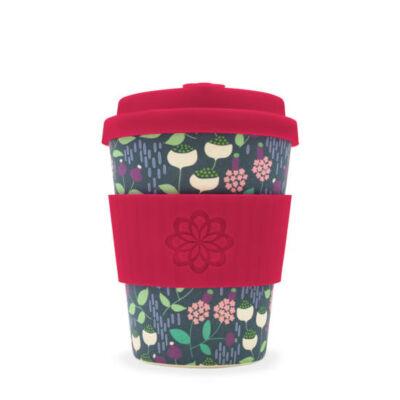 Ecoffee Cup hordozható kávéspohár  Tiny Garden Vondel 340 ml